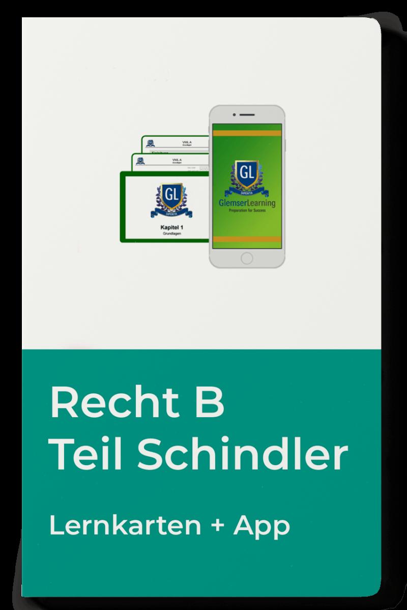 Lernkarten Recht B Teil Schindler